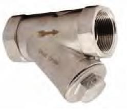 Фильтр сетчатый серии IS30, DN 15–80, PN 4,0 МПа, из нержавеющей стали (Торговый Дом АДЛ, Россия)