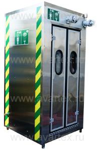 Модели АДУ 0140-0340 Аварийные душевые кабины обогреваемые