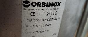 orbinox серия vg пп привод