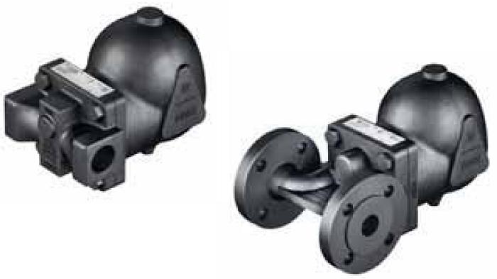 Термодинамические, поплавковые, с опрокинутым стаканом и биметаллические, термостатические конденсатоотводчики