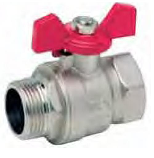 Кран шаровой латунный standart hidraulica 35.353