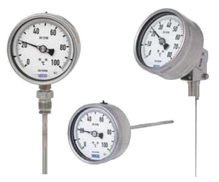 Механические приборы измерения температуры