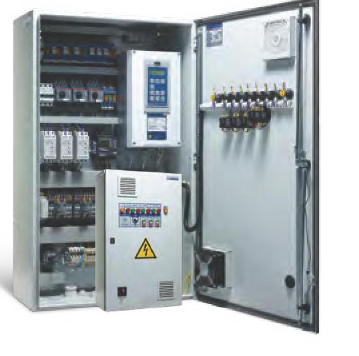 Серия шкафов управления с частотным и релейным регулированием АЭП 40
