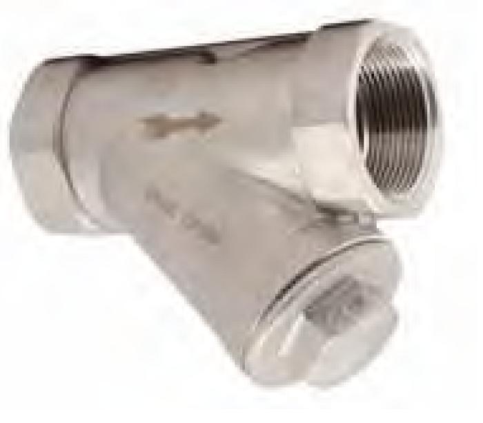 Фильтр сетчатый IS30 резьбовой из нержавеющей стали