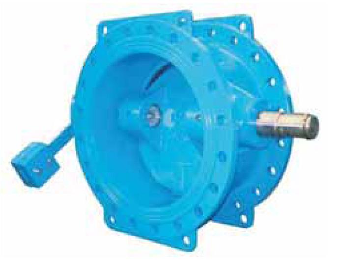 Обратный клапан «Гранлок» RD18 с рычагом и противовесом
