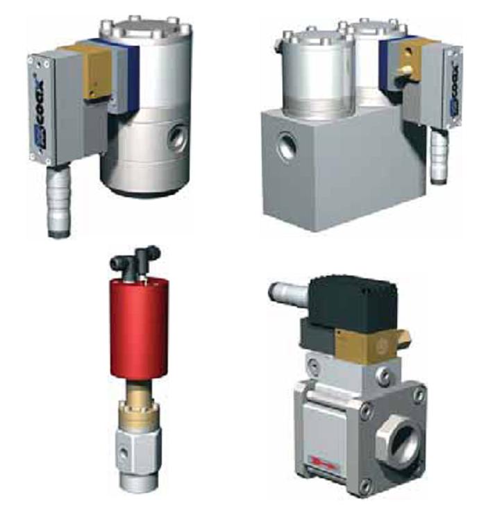 Коаксиальные клапаны Müller Co-ax (Германия)