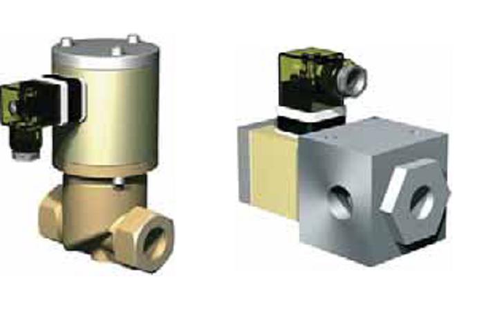 Коаксиальные клапаны Müller Co-ax (Германия) Седельчатые клапаны Müller Co-ax серии:RSV, 2/2 ходовые, DN 15-50, PN 10|DRV, 3/2 ходовые, DN 12-25, PN 2|