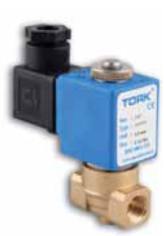 Соленоидные клапаны Tork для общепромышленных применений