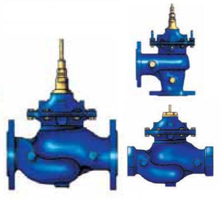 клапаны с пилотным управлением КАТ10, КАТ20 для жидких неагрессивных сред t° до 80 °
