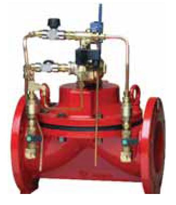 клапаны с пилотным управлением КАТ11, КАТ21 для жидких неагрессивных сред t° до 60 °