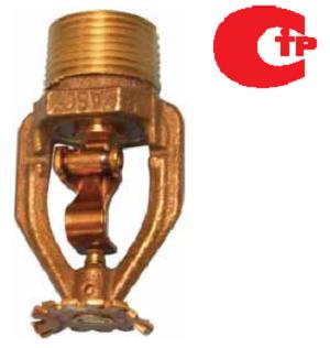 Reliable Ороситель спринклерный Ороситель розеткой вниз, R1015, К-80, бронза, 74°C.