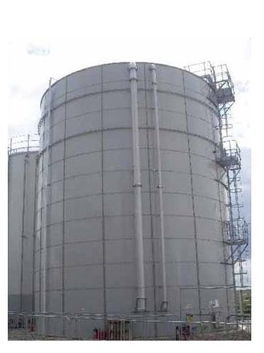 Резервуары для хранения противопожарного запаса воды