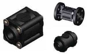 Мембранный клапан Swissfluid серии SDV футерованный пластомерами