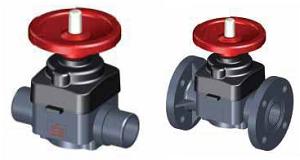 Мембранный клапан SAFI серия 2300