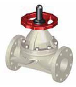 Мембранный клапан SAFI серия 3201