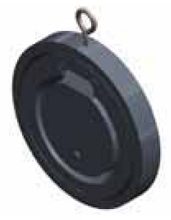Обратный клапан SAFI серия 4094, монтаж между фланцами