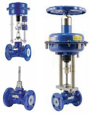 Мембранный клапан Swissfluid  серии SS с сервоприводами