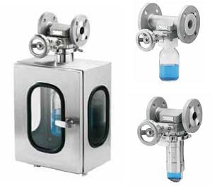 Вентиль для отбора проб серии SSV DN 15–150 Swissfluid (Швейцария)