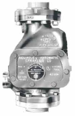 Клапан воздушный модель D, Reliable