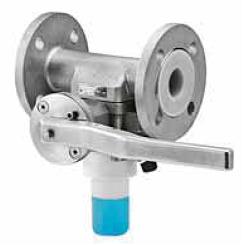 Шаровый кран Swissfluid  для отбора проб серии SSV-B DN 15–150
