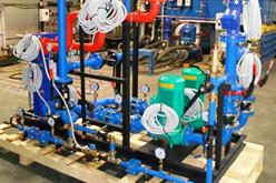 Модуль независимой системы отопления с автоматической линией подпитки