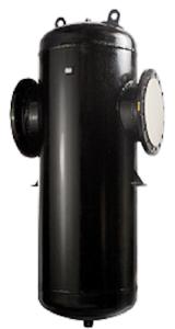Центробежный сепаратор пара и сжатого воздуха «Гранстим» серии СПГ25/40 DN 15–300 t°макс. +300 °С (Торговый Дом АДЛ, Россия)