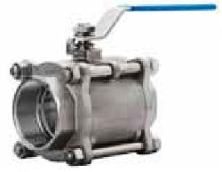Кран шаровый двухходовой серии BV17, DN 8–100, PN 4,0/6,3 Мпа из нержавеющей стали без ISO-фланца (Торговый Дом АДЛ, Россия)