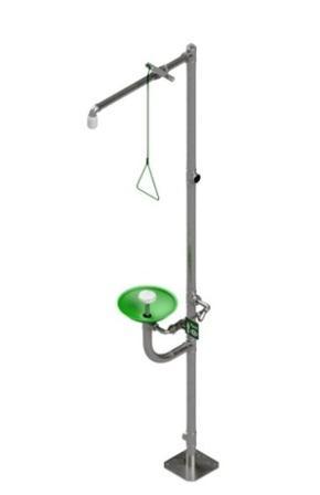 Комбинированный аварийный душ Модель АДУ-0301