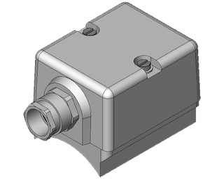 клемная коробка müller co-ax