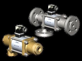 co-ax MK/FK15 клапаны прямого