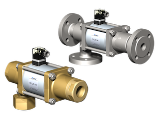 co-ax MK/FK 25DR коаксиальные клапаны прямого действия